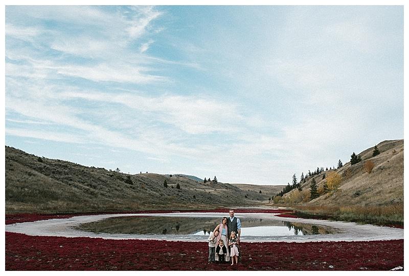 Lac de Bois Fall Family Session