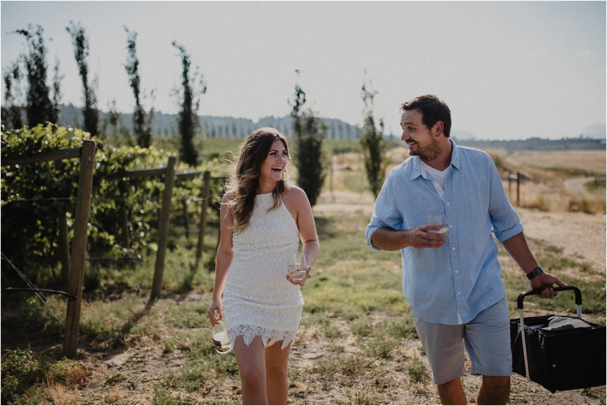 Monte Creek Ranch Winery Engagement