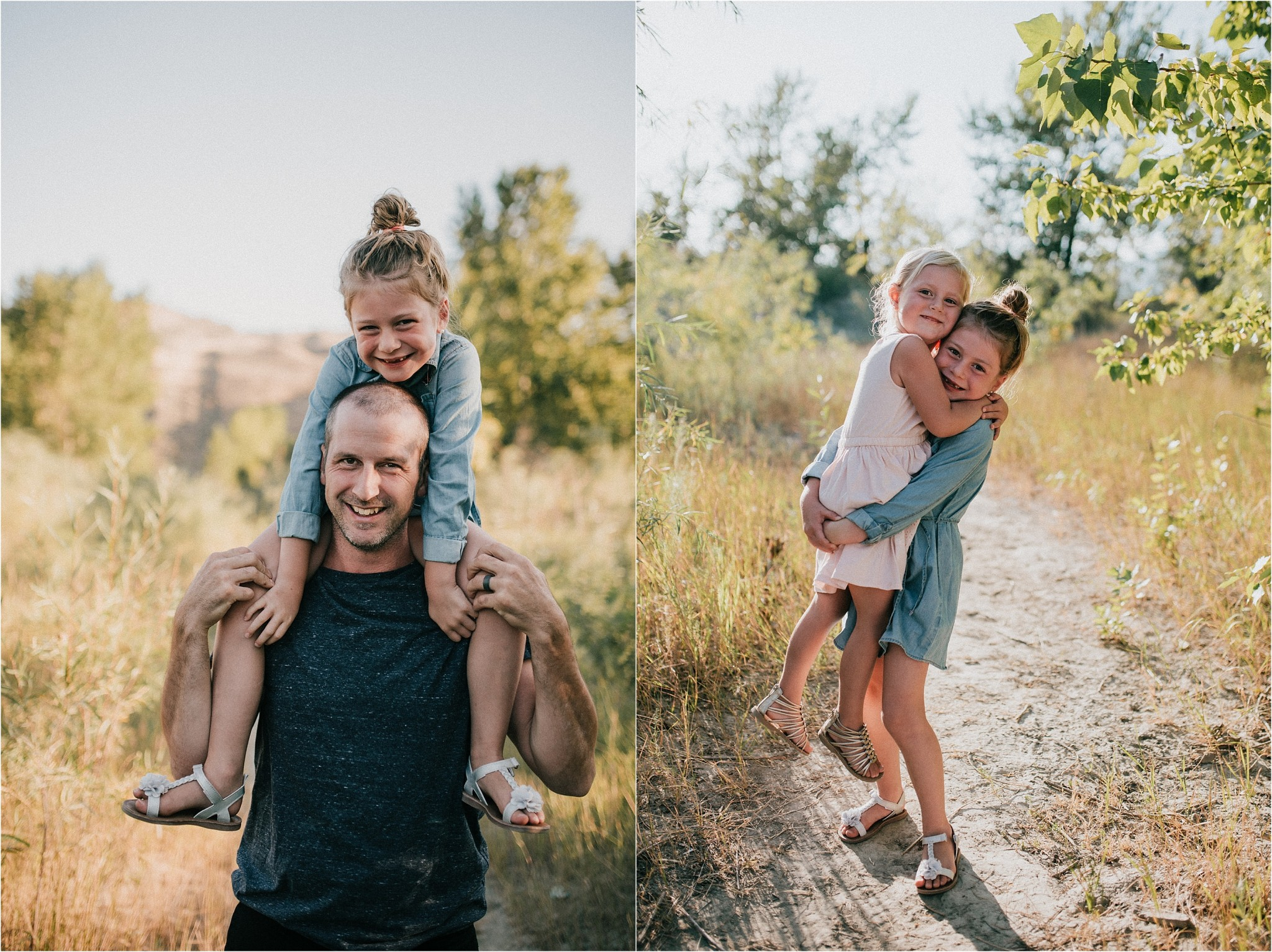 Kamloops summer family session