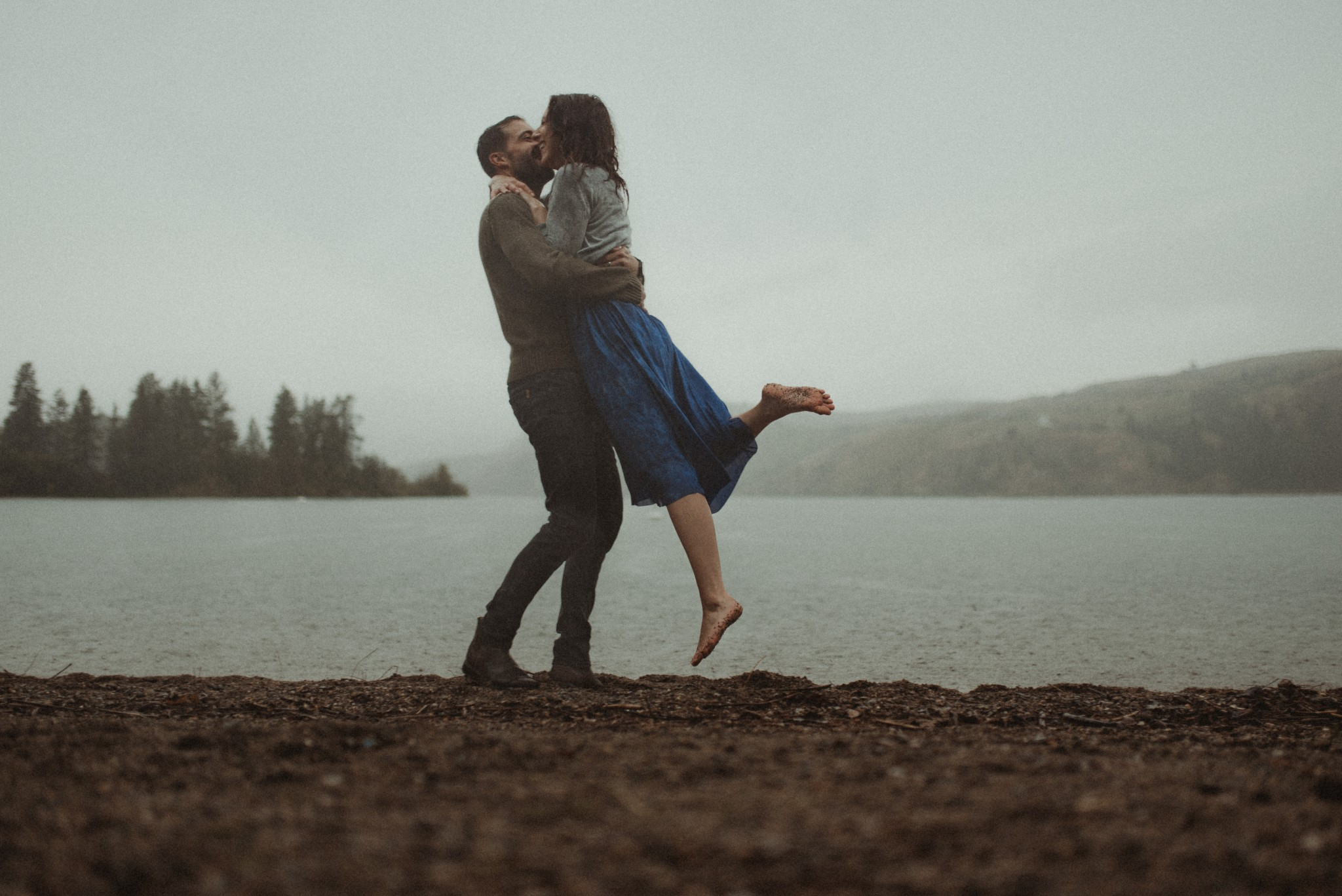 Kalamalka Lake Engagement